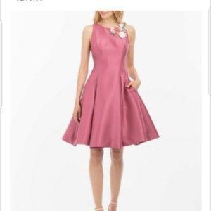 Mauve knee length formal dress/gown